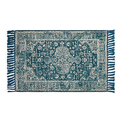 Bee & Willow™ Home Dublin 2'3 x 3'9 Flat-Weave Accent Rug in Green