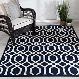 Destination Summer Miami Geo Indoor/Outdoor Rug