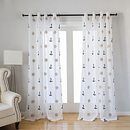 CB Station Seaport Grommet Window Curtain Panel