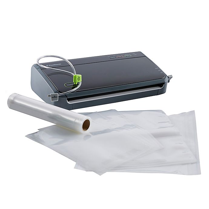 Alternate image 1 for FoodSaver® FM2106 Manual Vacuum Sealing System in Black