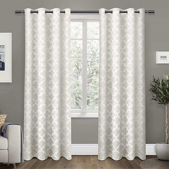 Alternate image 1 for Cartago Grommet Top Room Darkening Window Curtain Panel Pair