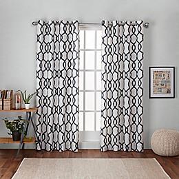 Kochi Grommet Top Room Darkening Window Curtain Panel Pair