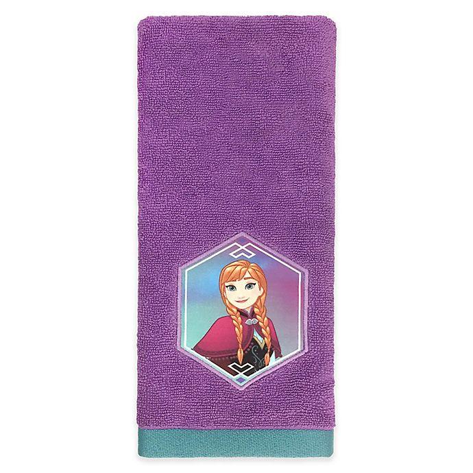 Disney 174 Frozen Snowflake Hand Towel Bed Bath Amp Beyond