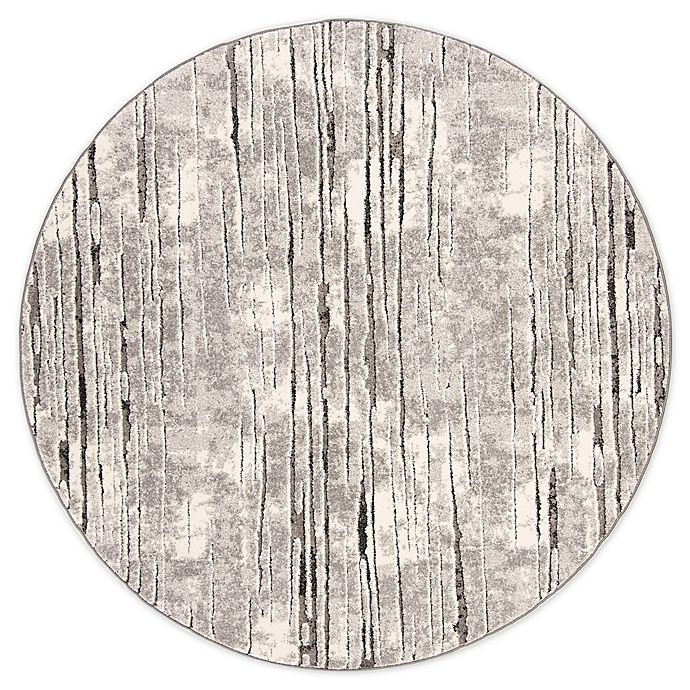Alternate image 1 for Safavieh Spirit Hannah 6'7 Round Power-Loomed Area Rug in Grey
