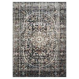 Loloi Rugs Anastasia 2'7 x 4' Area Rug in Charcoal