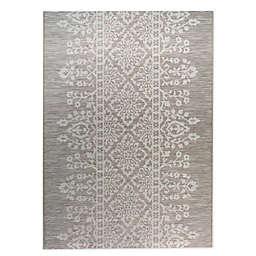 Bee & Willow™ Home Miami Lace Indoor/Outdoor 9' x 12' Area Rug in Linen