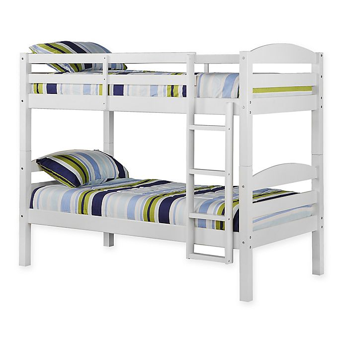 Alternate image 1 for Forest Gate Solid Wood Twin Bunk Bed