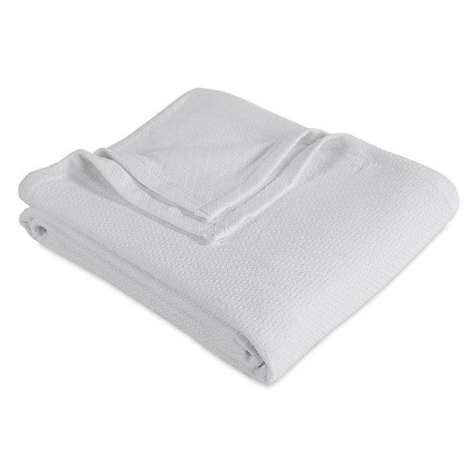 Alternate image 1 for Berkshire King Cotton Blanket in White