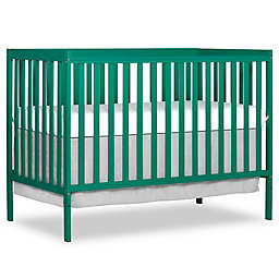 Dream On Me Synergy 5-in-1 Convertible Crib in Emerald