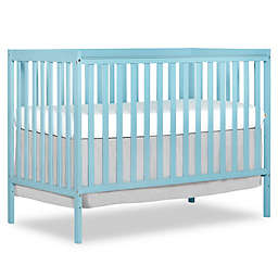 Dream On Me Synergy 5-in-1 Convertible Crib in Aqua