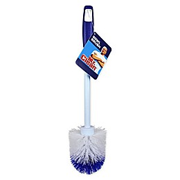 Mr. Clean® Round Toilet Bowl Brush in Blue/White