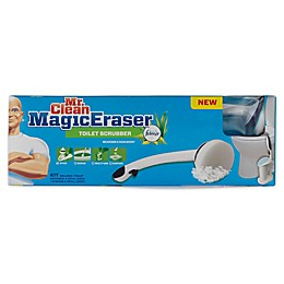 Mr. Clean® Magic Eraser Toilet Scrubber in Blue/White