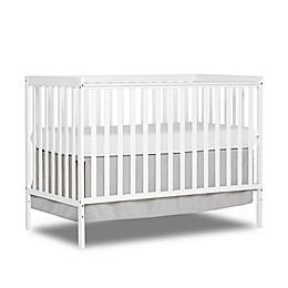 Dream On Me Synergy 5-in-1 Convertible Crib in White