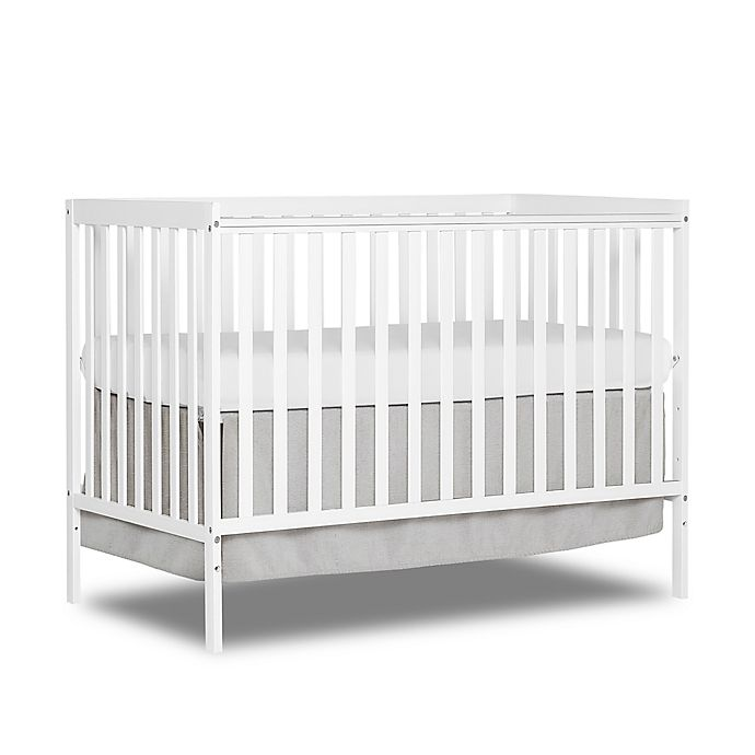 Alternate image 1 for Dream On Me Synergy 5-in-1 Convertible Crib in White