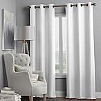 Hartsville Textured 4-Pack 84-Inch Grommet Window Curtain Panel Set in White