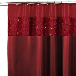 Maria Red 72-Inch x 72-Inch Shower Curtain