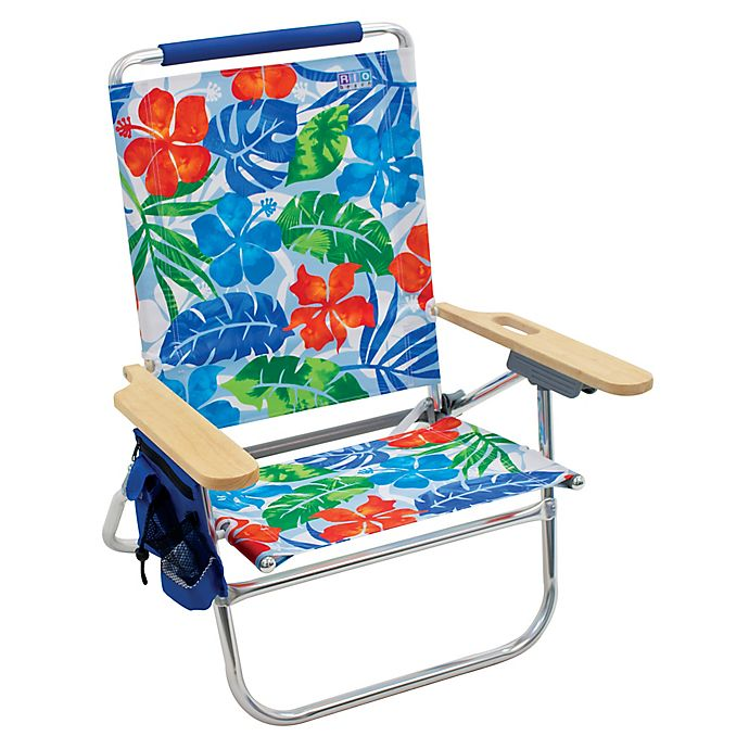 Alternate image 1 for The Genuine Beach Bum Tropical Flower Print Chair