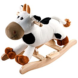 Happy Trails Plush Rocking Connie Cow Ride-On