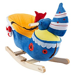 Happy Trails Plush Rocking Ship Ride-On