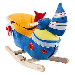 Happy Trails Plush Rocking Ship Ride-On