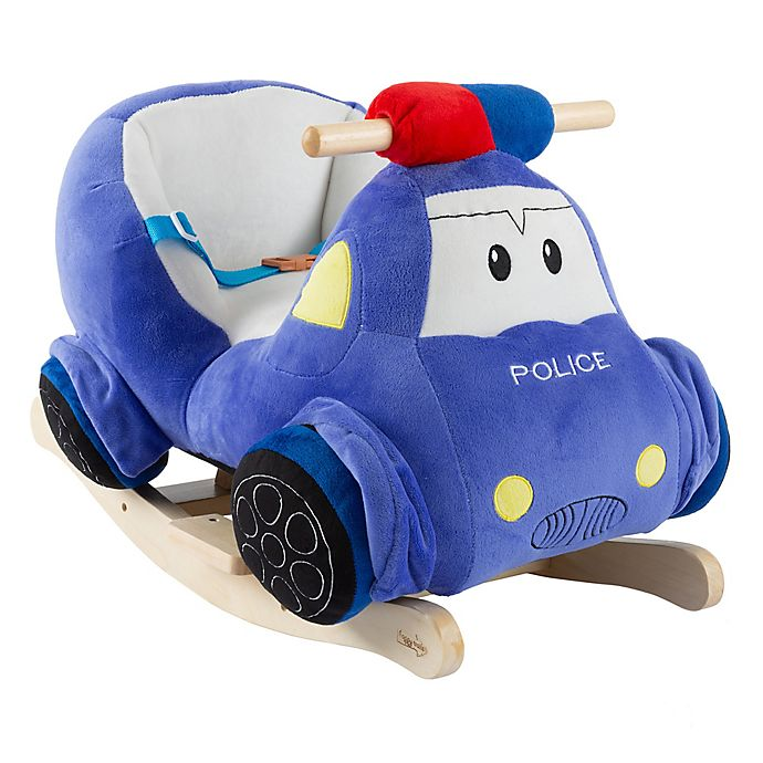 Alternate image 1 for Happy Trails Rocking Police Car Ride-On
