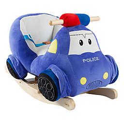 Happy Trails Rocking Police Car Ride-On