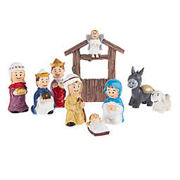 Hey! Play! Nativity 8-Piece Play Set