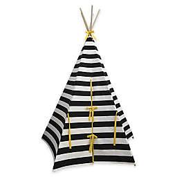 Monochrome Striped Teepee
