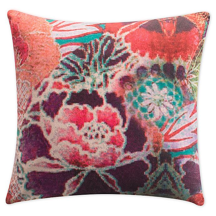 Alternate image 1 for Tracy Porter® Chiara Velvet Square Throw Pillow
