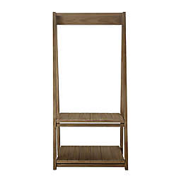Casual Home® Essex Folding Coat Rack with Shelves in Grey