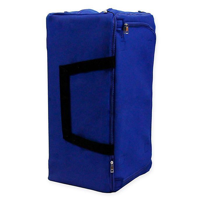 Alternate image 1 for LUMEHRA FlexBag Large Neoprene Expandable Duffel Bag in Blue