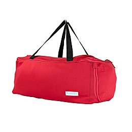 Yoga, Fitness & Gym Duffel Bag with Shoe Holder By LUMEHRA