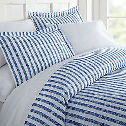 Rugged Stripes 3-Piece Duvet Cover Set