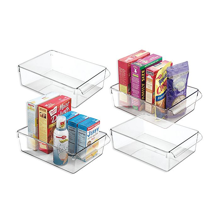 Alternate image 1 for iDesign® Linus Pullz Kitchen Organizers (Set of 4)