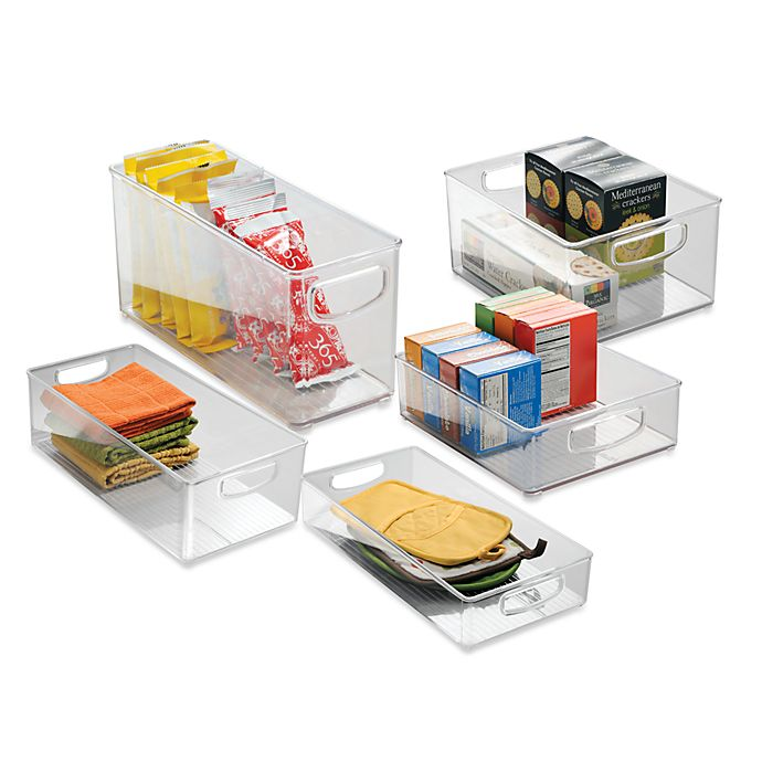 Alternate image 1 for iDesign® Cabinet Binz™ Storage Bin