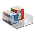 iDesign® Cabinet Binz™ 10-Inch x 8-Inch x 3-Inch Plastic Bin