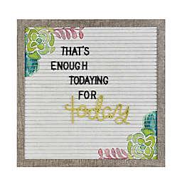 13.4-Inch Screen Printed Felt Letters Memo Board