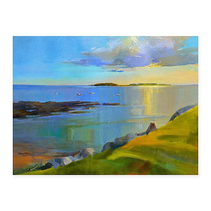 Alternate image 1 for Masterpiece Art Gallery Kettle Cove Boats 30-Inch x 40-Inch Canvas Wall Art