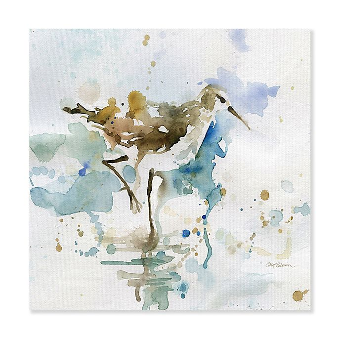 Masterpiece Art Gallery Malibu Sand Piper Multicolor Canvas Wall Art Bed Bath Beyond