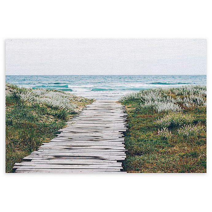 Alternate image 1 for Masterpiece Art Gallery Beach Path 22-Inch x 28-Inch Canvas Wall Art