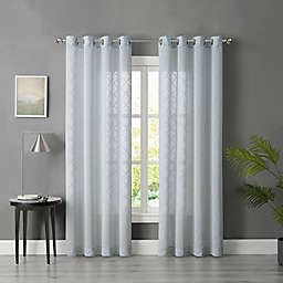 Tiburon Sheer Grommet Window Curtain Panel