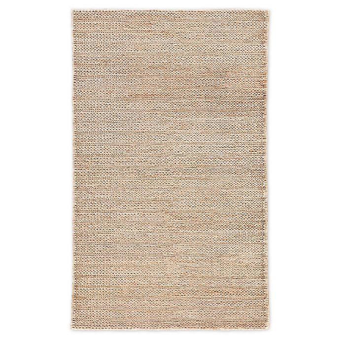 Alternate image 1 for Jaipur Living Poncy Solid 8' x 10' Area  Rug in Tan