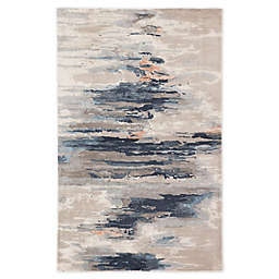 Jaipur Living Benna Abstract 5' x 8' Handcrafted Area Rug in Blue/Pink