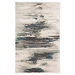 Jaipur Living Benna Abstract 8' x 11' Handcrafted Area Rug in Teal
