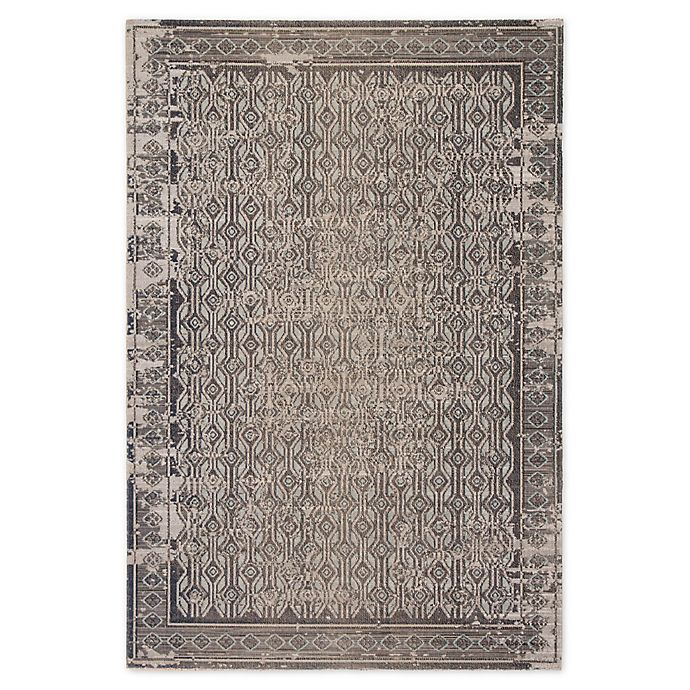 Alternate image 1 for Jaipur Living Polaris Geometric Indoor/Outdoor 8'10 x 12' Area Rug in Stone