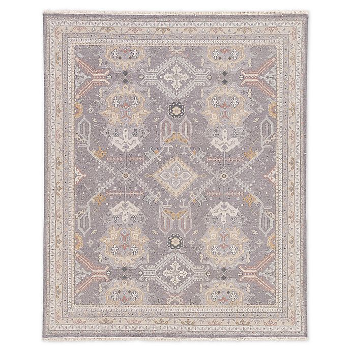 Alternate image 1 for Jaipur Wolter Medallion 9' x 12' Hand-Knotted Area Rug in Grey