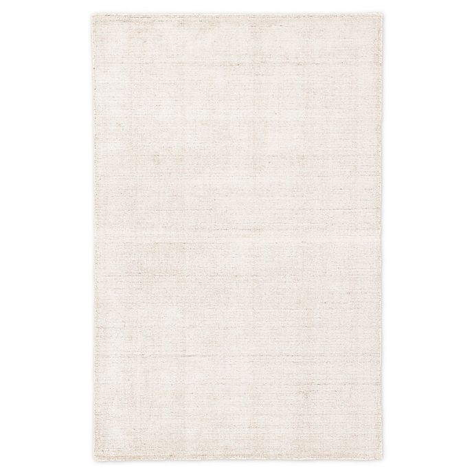 Alternate image 1 for Jaipur Vaughn Solid 5' x 8' Hand-Loomed Area Rug in Beige