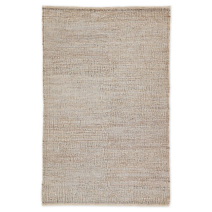 Alternate image 1 for Jaipur Anthro Solid 9' x 12' Hand-Woven Area Rug in Tan