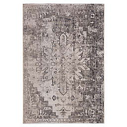 Jaipur Io Medallion Power-Loomed Indoor/Outdoor Rug in Grey