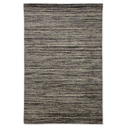 Jaipur Solid Loomed Rug in Black